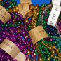 ***BRAND NEW*** 6 DOZEN AUTHENTIC NEW ORLEANS MARDI GRAS BEADS LOT + **BONUSES**