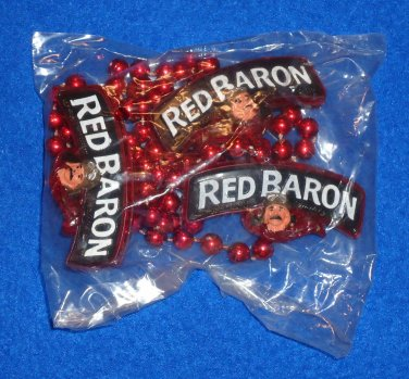 UNIQUE RED BARON NEW ORLEANS MARDI GRAS BEAD GERMAN FIGHTER PILOT FACTORY SEALED
