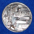 ARGUS LIBRARY AUTHENTIC NEW ORLEANS MARDI GRAS ALUMINUM DOUBLOON BOOKS PIPE