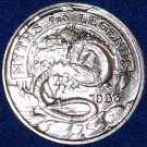 FIRE BREATHING DRAGON KNIGHT CASTLE NEW ORLEANS MYTHS MARDI GRAS DOUBLOON TOKEN
