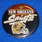 NEW ORLEANS SAINTS PIN COLLECTIBLE NFL TEAM FLEUR DE LIS HELMET - BREES PAYTON