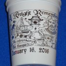 2016 KREWE OF EXCALIBUR A KNIGHT REMEMBERS MARDI GRAS CUP 15TH ANNIVERSARY SWORD