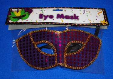 ***BRAND NEW*** NEW ORLEANS MARDI GRAS COSTUME MASQUERADE MASK *FACTORY SEALED*