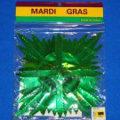 AUTHENTIC NEW ORLEANS MARDI GRAS DECORATION GARLAND FOIL PURPLE GREEN GOLD