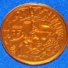 BACCHANIAL AUTHENTIC NEW ORLEANS MARDI GRAS DOUBLOON WINE MARDI GRAS MASKS DRINK