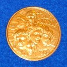 **SPECIAL 20TH ANNIVERSARY** 20 YEARS OF BACCHUS NEW ORLEANS MARDI GRAS DOUBLOON