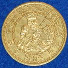 ONCE AND FUTURE KING NOLA MARDI GRAS DOUBLOON ARTHURIAN FANTASY NOVEL T H WHITE
