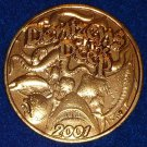 DENIZENS OF THE DEEP NOLA MARDI GRAS DOUBLOON SWORDFISH OCTOPUS SHARK JELLYFISH