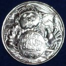 WHAT MIGHT HAVE BEEN NEW ORLEANS MARDI GRAS DOUBLOON GYPSY CRYSTAL BALL TOKEN