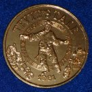 FIDDLER ON THE ROOF TEVYE'S TALE AUTHENTIC NEW ORLEANS MARDI GRAS DOUBLOON TOKEN