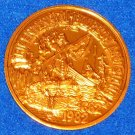 BOURBON LOUISIANA NEW ORLEANS MARDI GRAS DOUBLOON COIN TOKEN LOUIS XIV FRANCE