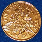 UNIQUE FRANKENSTEIN ANGEL DEVIL AUTHENTIC NEW ORLEANS MARDI GRAS DOUBLOON TOKEN