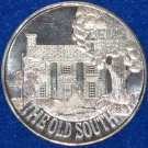 1973 THE OLD SOUTH AUTHENTIC NEW ORLEANS MARDI GRAS DOUBLOON PLANTATION HOME