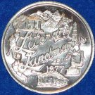 LITERARY LANDMARKS NEW ORLEANS MARDI GRAS DOUBLOON EIFFEL TOWER PARTHENON