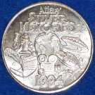 SILVER MEMORIES NEW ORLEANS MARDI GRAS DOUBLOON UFO DECLARATION OF INDEPENDENCE