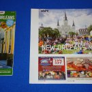 *NEW 2015-16 NEW ORLEANS WHERE MAP & VISITOR'S GUIDE + BONUS GUESTBOOK REFERENCE