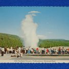 BRAND NEW VINTAGE OLD FAITHFUL GEYSER POSTCARD YELLOWSTONE NATIONAL PARK WYOMING