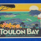 *BRAND NEW* PORTS OF TOULON BAY SHELTERED HEAVEN IN VAR PROVENCE FRANCE POSTCARD