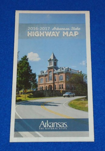BRAND NEW HUGE 2016-17 ARKANSAS STATE HIGHWAY MAP - EXCELLENT REFERENCE GUIDE