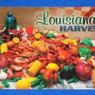 BRAND NEW LOUISIANA HARVEST TRADITIONAL CAJUN PASTIME CRAWFISH BOIL POSTCARD