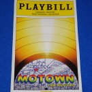 *BRAND NEW* MOTOWN THE MUSICAL PLAYBILL BROADWAY JUKEBOX MUSICAL BERRY GORDY