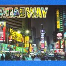 *BRAND NEW STRIKING NEW YORK CITY BROADWAY POSTCARD JERSEY BOYS WICKED LION KING