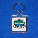 FABULOUS SURVIVOR LOGO BAHAMAS KEYCHAIN OUTWIT OUTPLAY OUTLAST REALITY TV SHOW