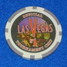 **BRAND NEW** ADORABLE LAS VEGAS STRIP $1 OFFICIAL TOURNAMENT CHIP SOUVENIR