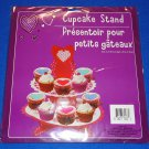 **BRAND NEW** VALENTINE'S DAY CUPCAKE STAND HEART CRAFT KIT *FACTORY SEALED*