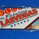 *BRAND NEW* RAISED LAS VEGAS SOUVENIR MAGNET CASINO GAMES CHIPS *FACTORY SEALED*