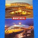VINTAGE SENSATIONAL MONTREAL XXI 1976 OLYMPICS STADIUM POSTCARD QUEBEC CANADA