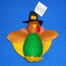 *BRAND NEW* TURKEY STUFFED ANIMAL THANKSGIVING HOLIDAY DECORATION WITH TAG