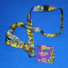 BRAND NEW COOL NICKELODEON TEENAGE MUTANT NINJA TURTLE LANYARD WITH ORIGINAL TAG