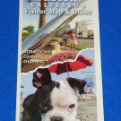 *BRAND NEW* GREATER HOUSTON AND GALVESTON VISITOR MAP & GUIDE - GREAT REFERENCE