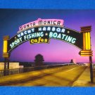 **BRAND NEW** PHENOMENAL SANTA MONICA PIER POSTCARD ICONIC CALIFORNIA ATTRACTION