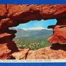 VINTAGE UNUSED GARDEN OF THE GODS STAMP POSTCARD COLORADO SPRINGS PARK RED ROCK