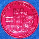 LOYOLA UNIVERSITY WOLFPACK NEW ORLEANS MARDI GRAS DOUBLOON HALLS OF MEMORIES