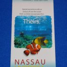*BRAND NEW* SEAWORLD EXPLORER UNDERSEA ADVENTURE BROCHURE NASSAU BAHAMAS