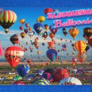BRAND NEW SENSATIONAL ALBUQUERQUE BALLOONING NEW MEXICO POSTCARD MASS ASCENSIONS