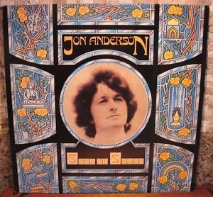 JON ANDERSON SONG OF SEVEN SD-16021 RECORD VINYL LP NM/EX
