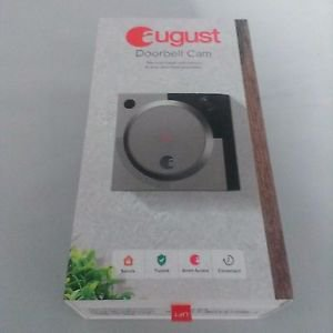 August  Doorbell Cam - Silver