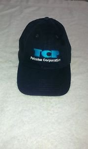 TCP Petcoke Navy Embroidered Logo Baseball Hat / Cap