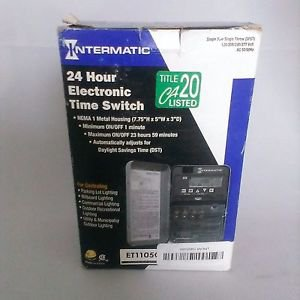 Intermatic ET1105C 24 Hour Electronic Time Switch