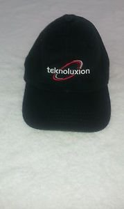 Teknoluxion  Embroidered Logo Baseball Hat / Cap