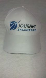 Journey Engineering  Embroidered Logo Baseball Hat / Cap