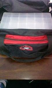 FieldLine Fishing  Bag With 2 Plano Stowaways   & 4 Large Fishing Lures.