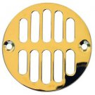 LASCO-Simpatico 31289P Drain Grill with Screws with 3-3/8-Inch Diameter and