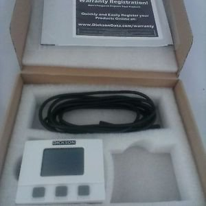 Dickson TM325 Temperature and Humidity Data Logger with Display and Probe