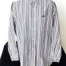 MEN'S CHAPS BY RALPH LAUREN LONG SLEEVE DRESS SHIRT XL WHITE BLACK RED YELLOW