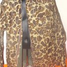 VINTAGE RED BALL ROYAL BROWN CAMO RAIN COAT JACKET RAIN GEAR HUNTING SIZE LARGE